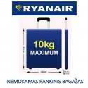 Nemokamo Ryanair rankinio bagažo lagaminai (55x40x20 cm)